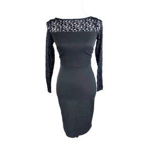 BANANA REPUBLIC Roland Mouret Long Sleeve Dress